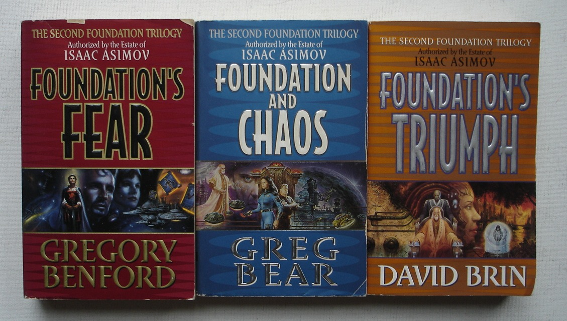 Image for The Second Foundation Trilogy: Foundation's Fear + Foundation and Chaos + Foundation's Triumph