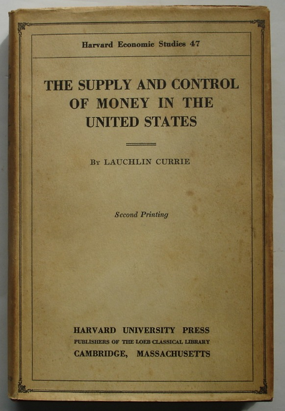 Image for The Supply and Control of Money in the United States