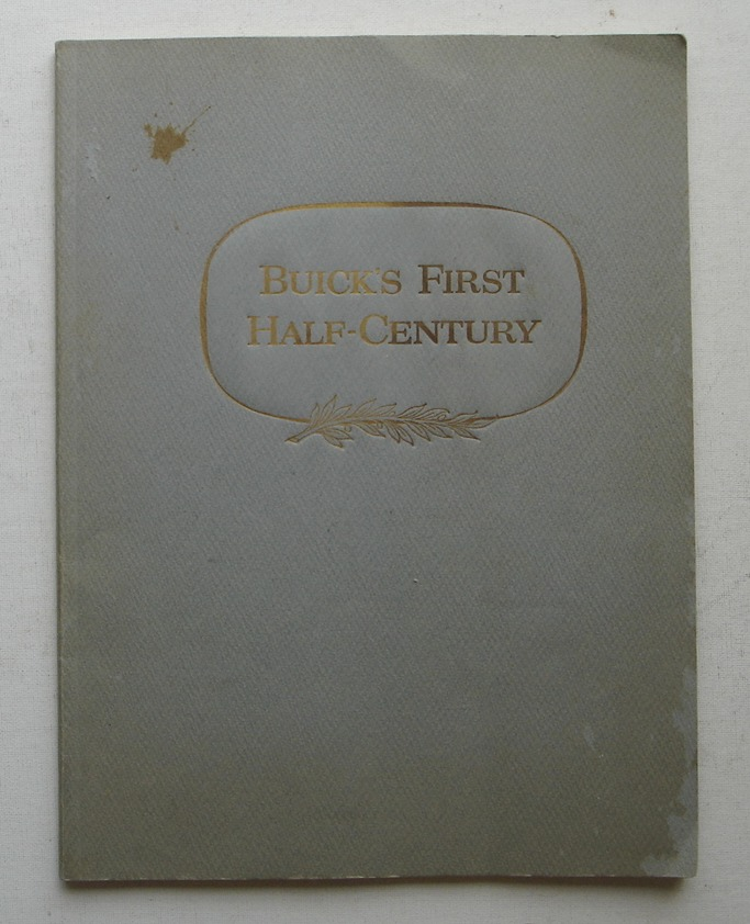 Image for Buick's First Half-Century 1903-1953