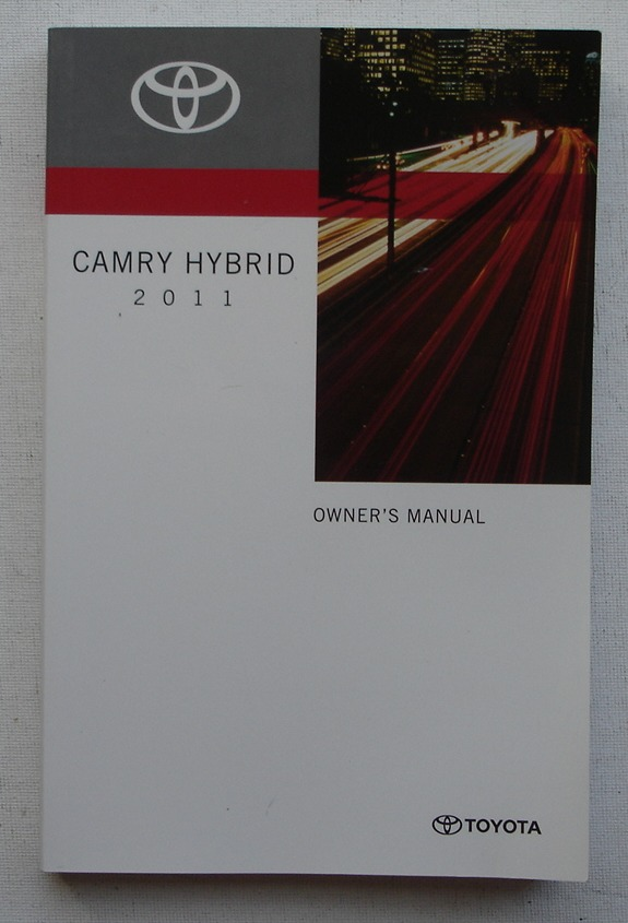 Image for 2011 Toyota Camry Hybrid Owner's Manual
