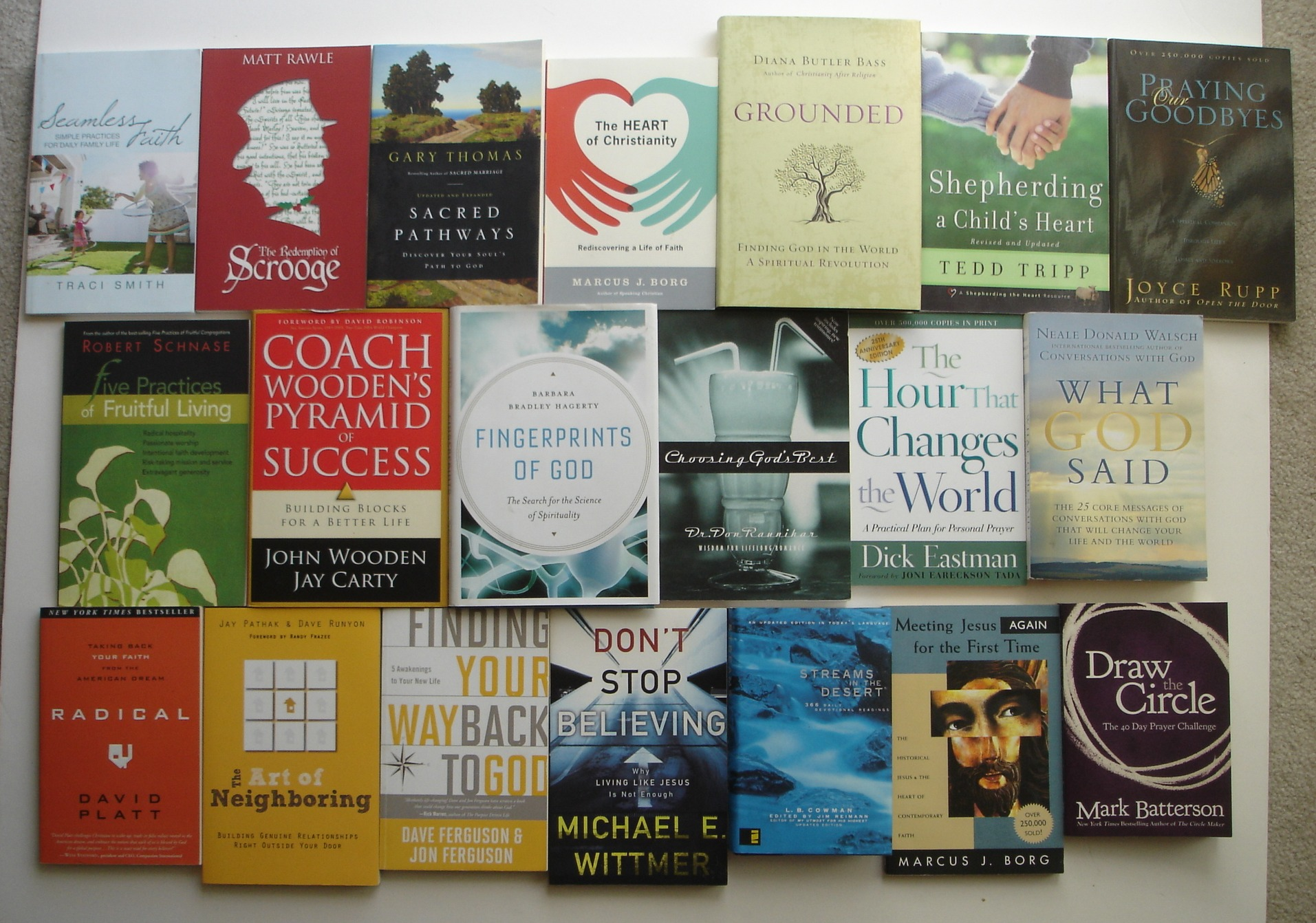 Image for Lot of 20 Contemporary Christian Living/Spirituality Books
