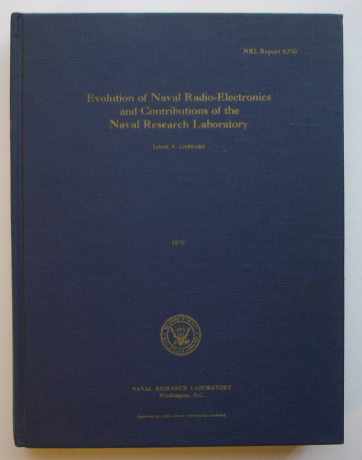 Image for Evolution of Naval Radio-Electronics and Contributions of the Naval Research Laboratory, NRL Report 8300