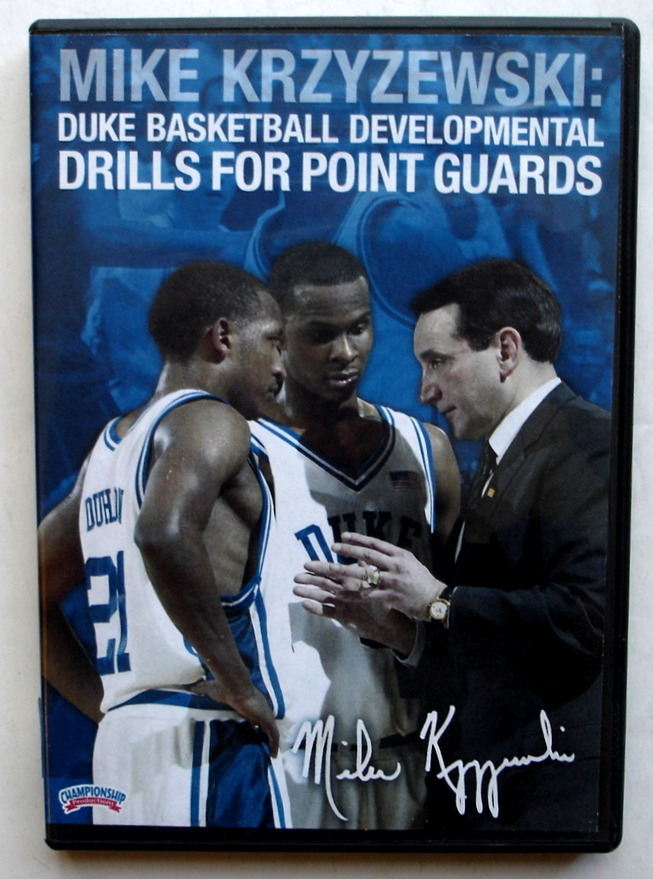 Image for Mike Krzyzewski: Duke Basketball Developmental Drills for Point Guards