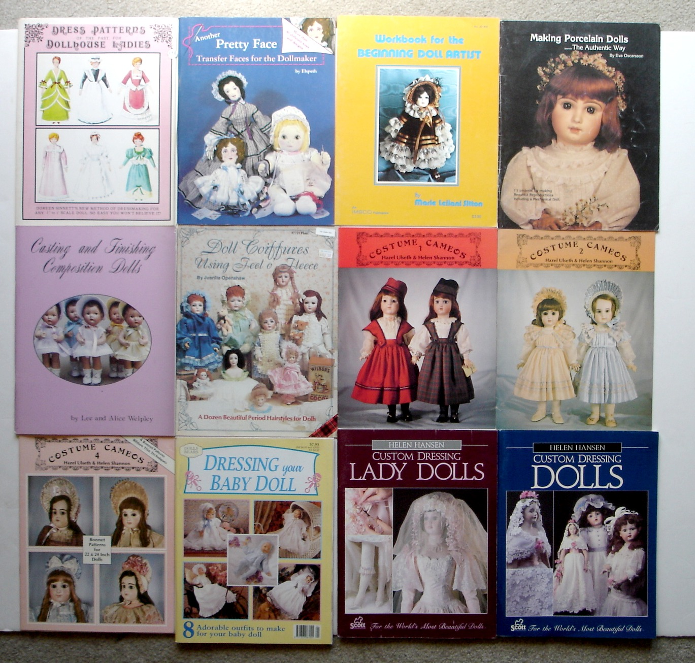 Image for Lot of 12 Doll Making / Doll Costume & Dress Books