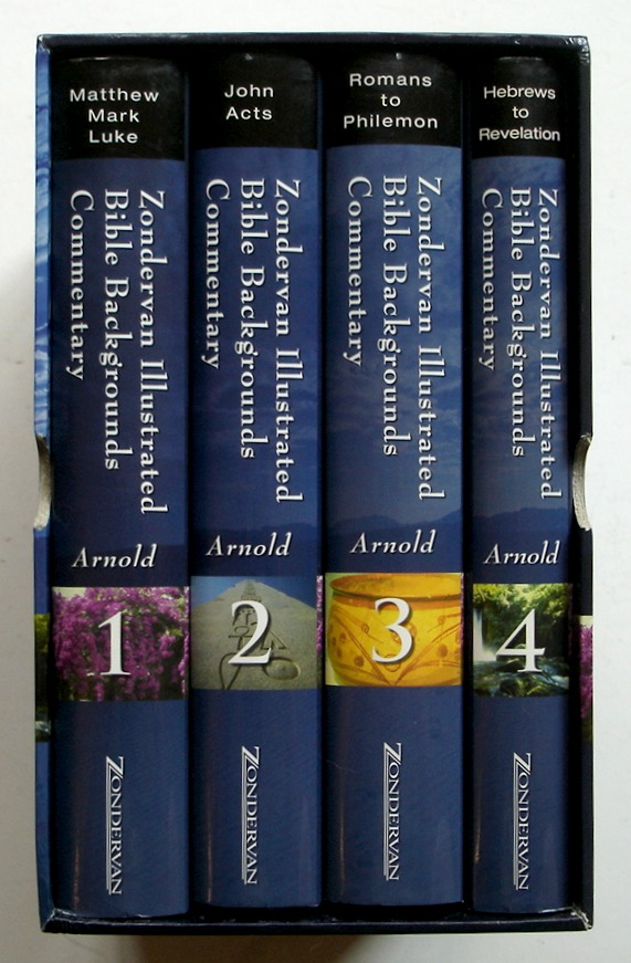 Image for Zondervan Illustrated Bible Background Commentary, 4 Volume Boxed Set